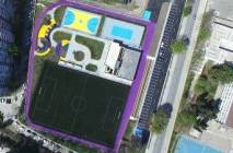 Varna with a brand new sports facilities, located on